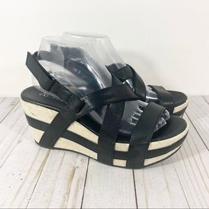Antelope 819 Crossed Classics Sandals Wedge 39